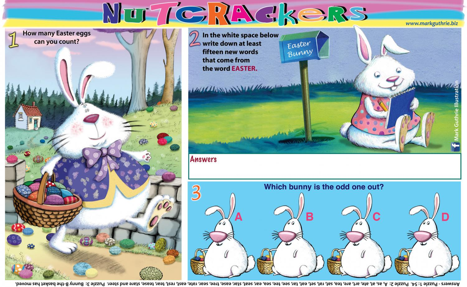 Thumbnail for Easter Nutcracker - half page