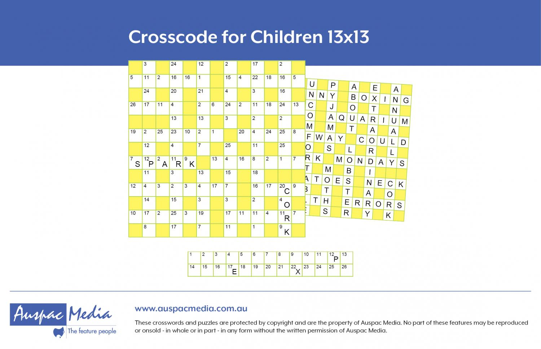 Thumbnail for Crosscode for Children