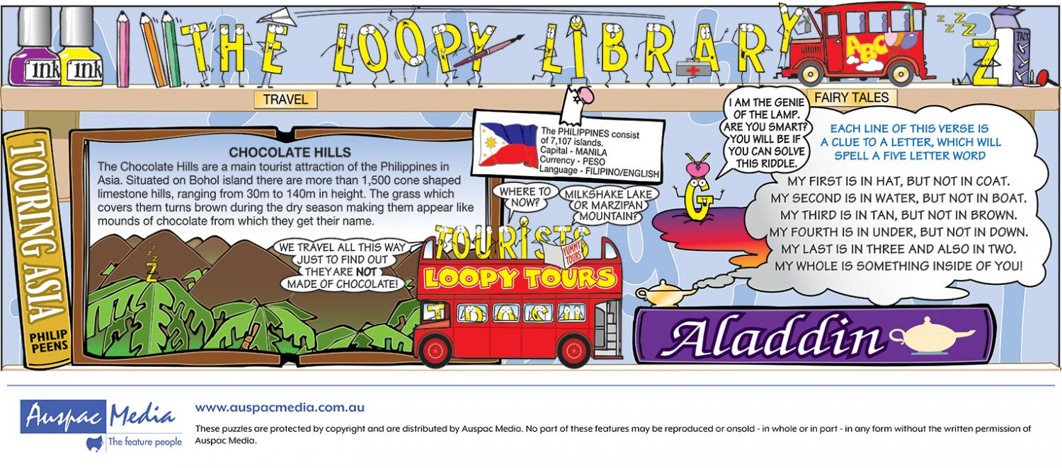Thumbnail for Loopy library Strip