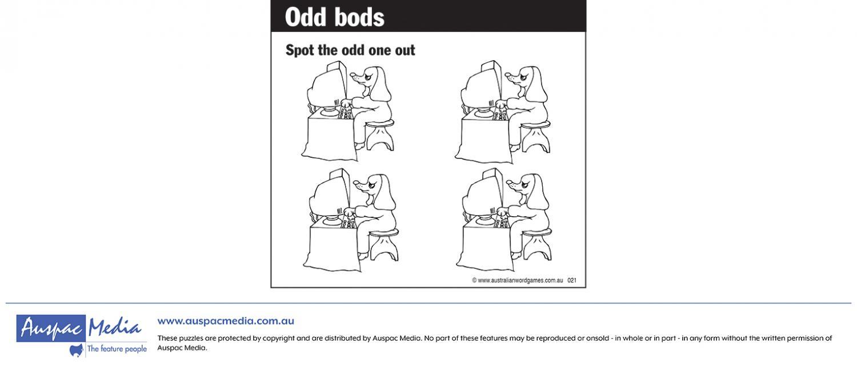 Thumbnail for Odd bods