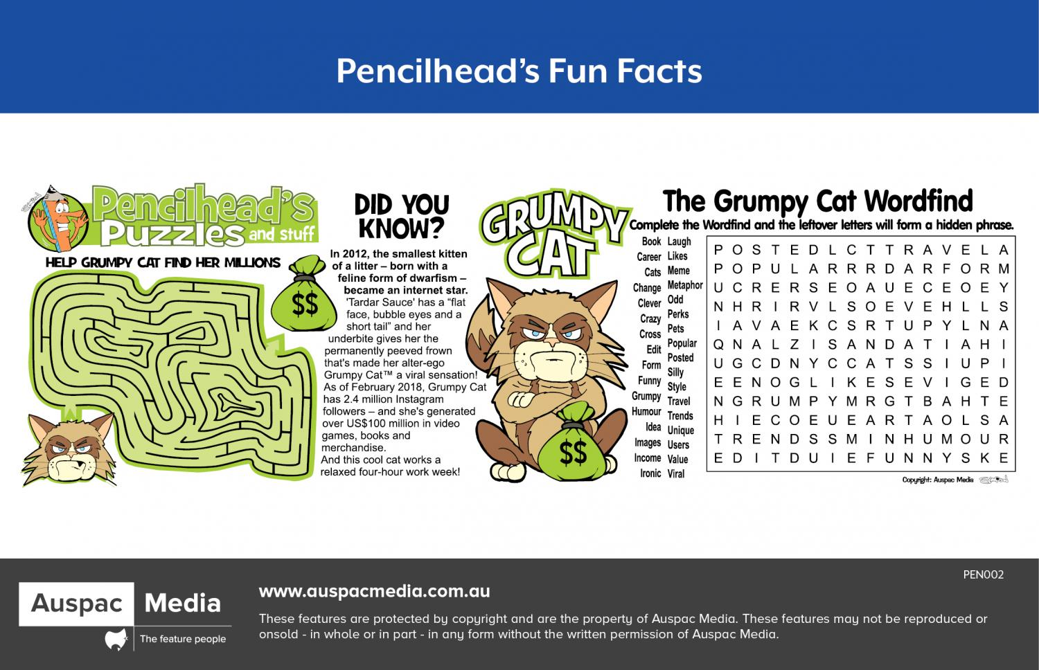 Thumbnail for Pencilhead's Fun Facts