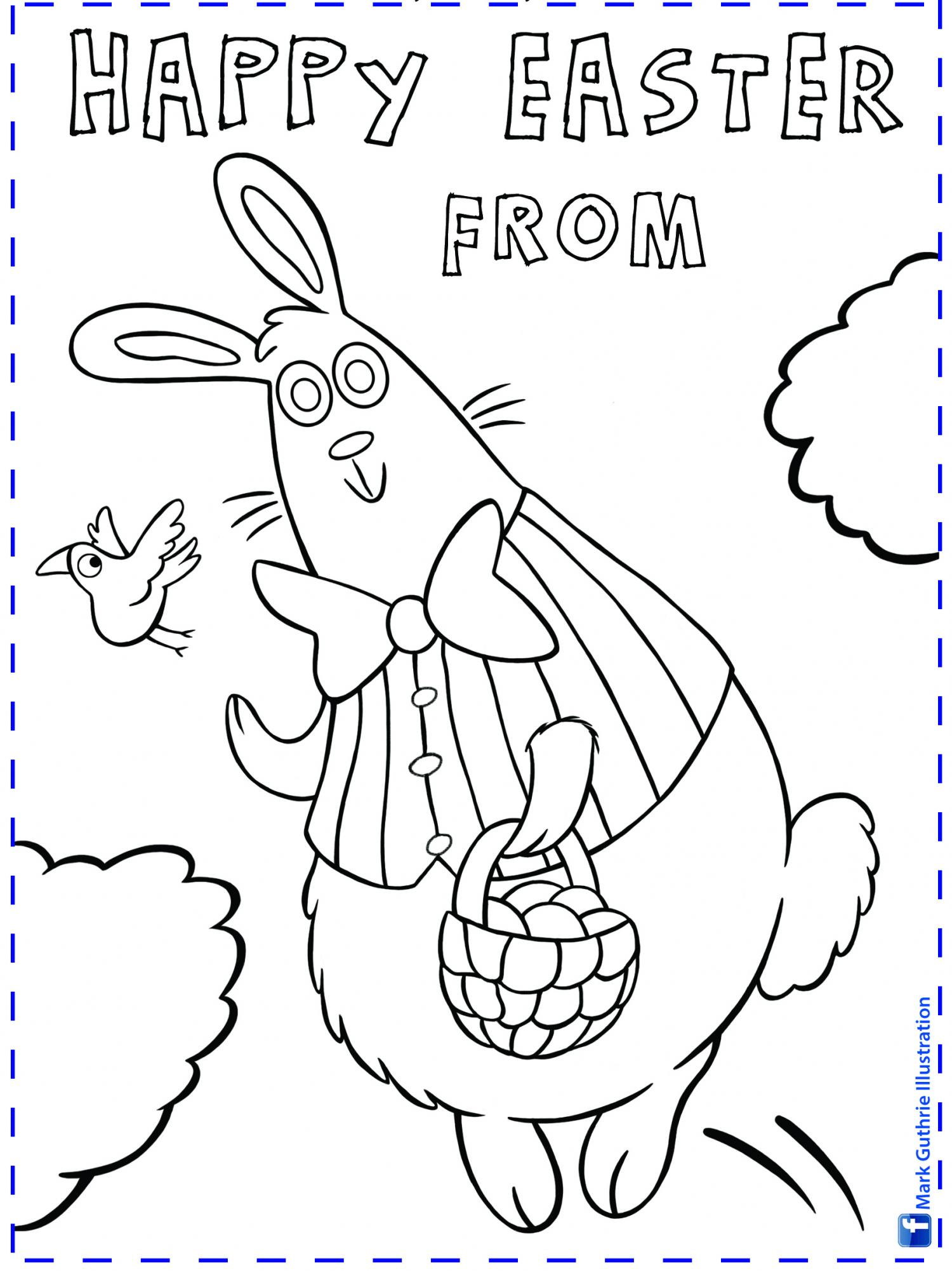 Thumbnail for Easter Colour-In
