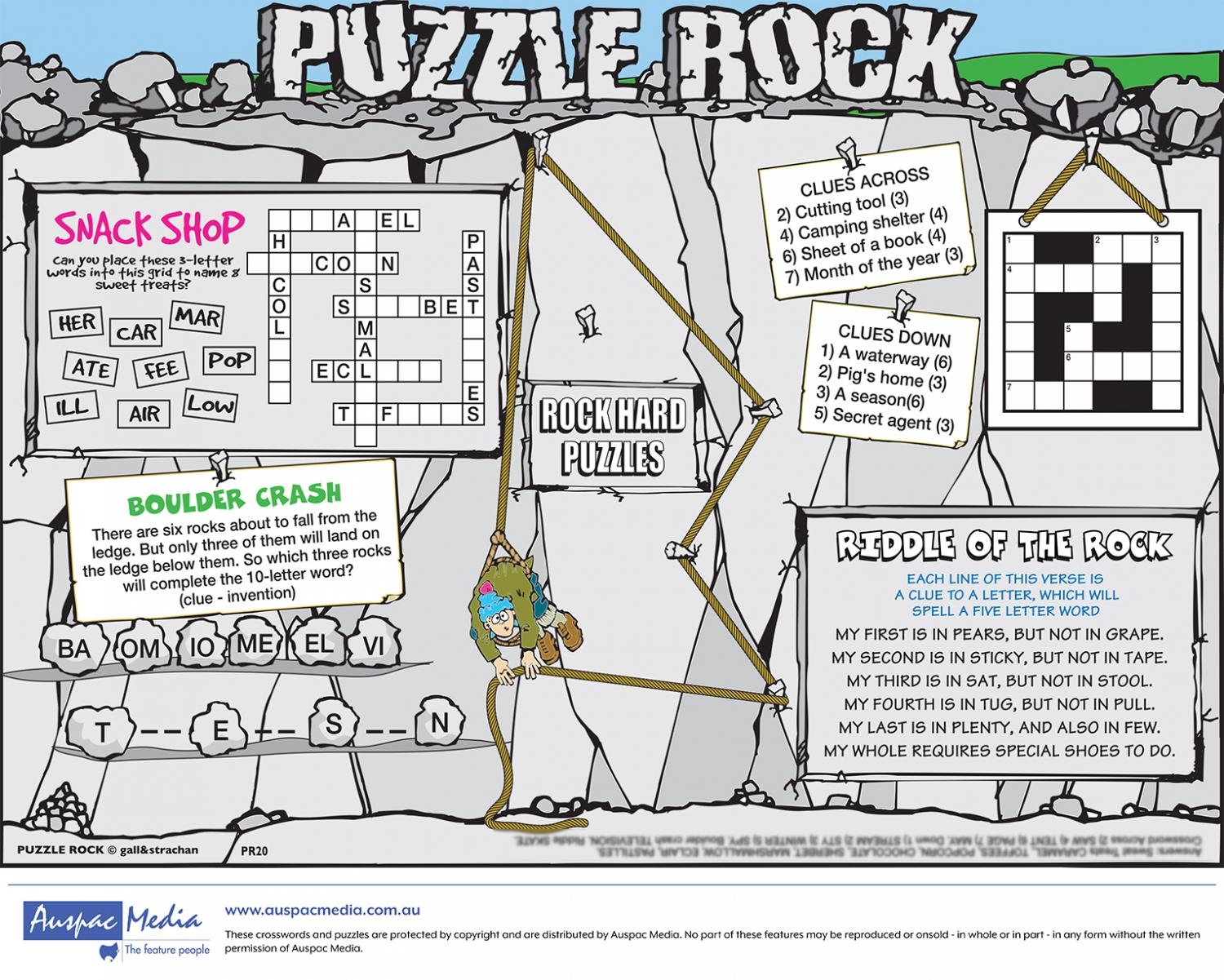 Thumbnail for Puzzle Rock - Half Page