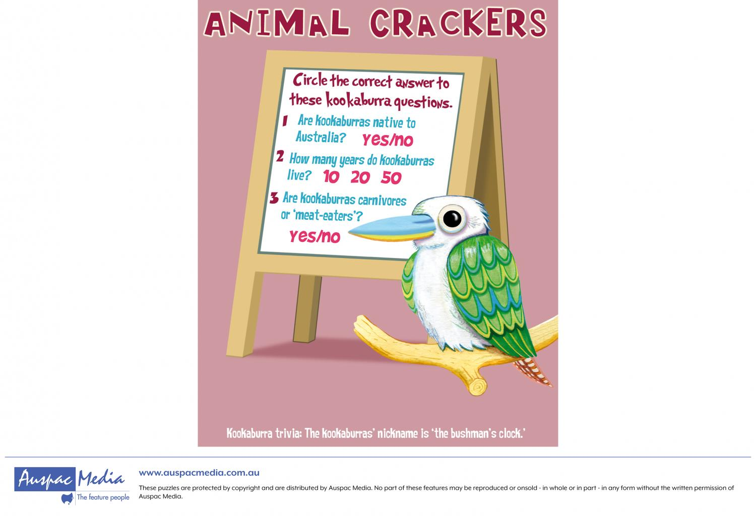 Thumbnail for Animal Crackers