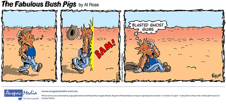 Thumbnail for Fabulous Bush Pigs ®
