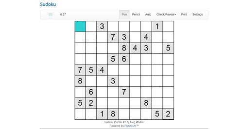 Thumbnail for Online Sudoku