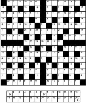 Thumbnail for Crosscode 15x15