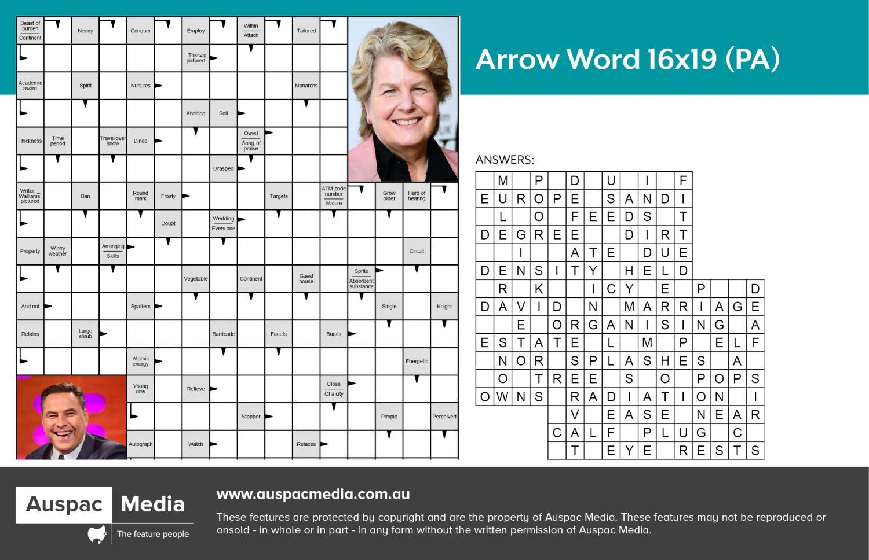 Thumbnail for Arrow Word 16x19 (PA)