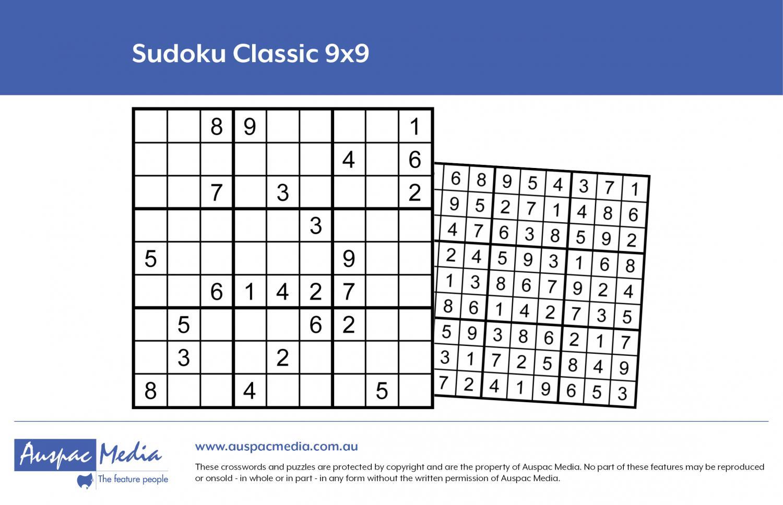 Thumbnail for Sudoku Classic 9x9
