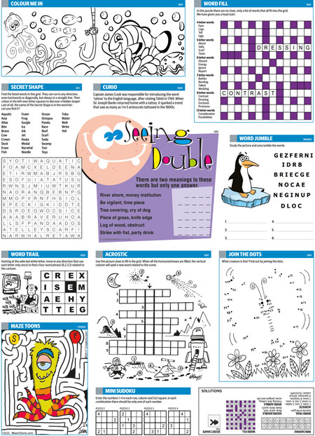 Thumbnail for Children's Puzzle Page 2