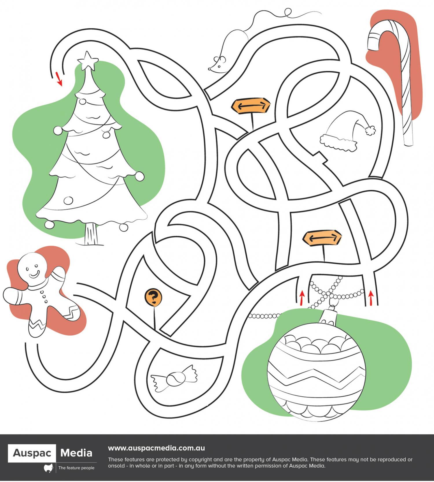 Thumbnail for Travel the Maze - Christmas