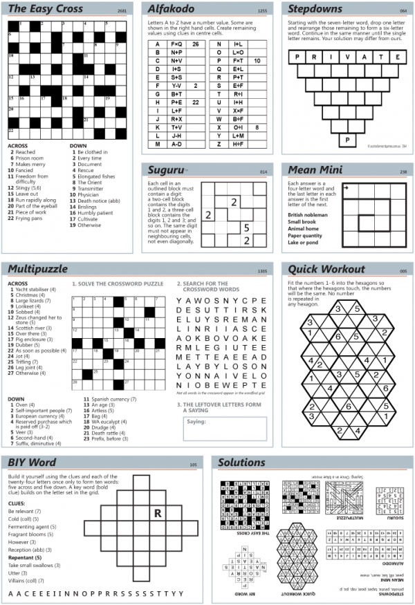 Thumbnail for Paginated puzzle page (AP)