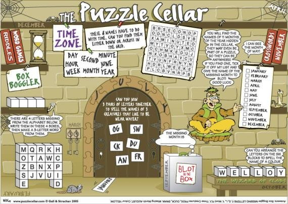 Thumbnail for The Puzzle Cellar (HF)