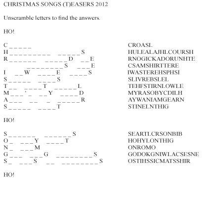 Thumbnail for Christmas Songs Teasers