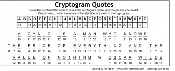 Thumbnail for Cryptogram