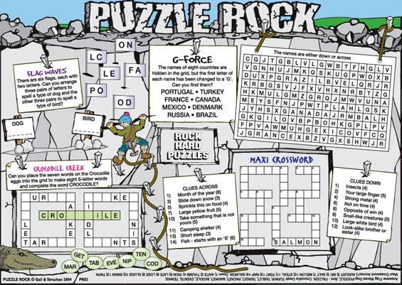 Thumbnail for Puzzle Rock (HP)