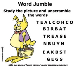 Thumbnail for Easter Word Jumble