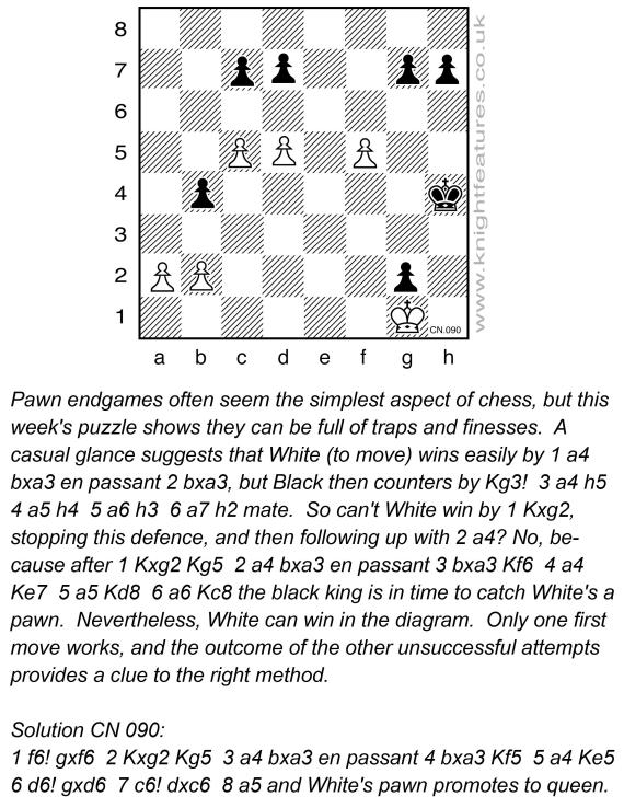 Thumbnail for Chess problems by Leonard Barden (KF)