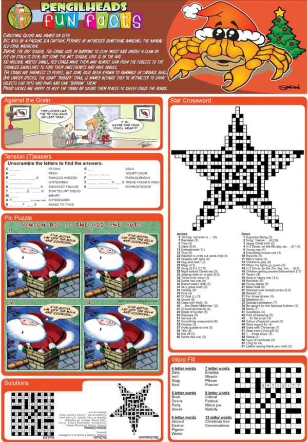 Thumbnail for Christmas Family Puzzle Page sample 6