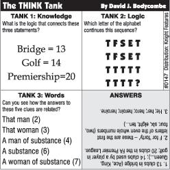 Thumbnail for Think Tank Puzzles (KF)