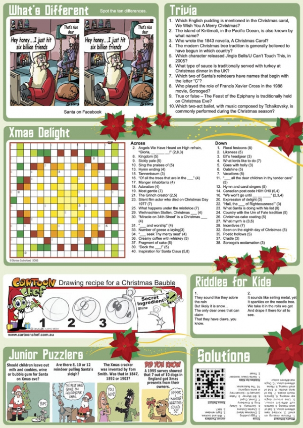 Thumbnail for Christmas Family Puzzle Page sample 2