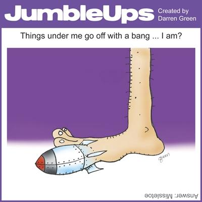 Thumbnail for JumbleUps - comic puzzles