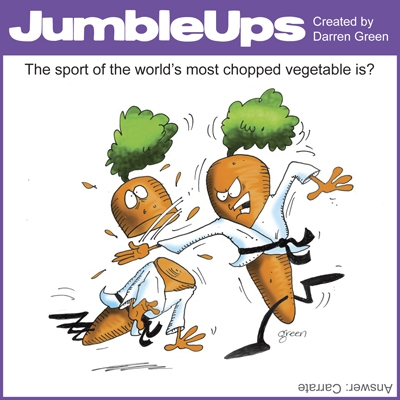 Thumbnail for JumbleUps - comic puzzles