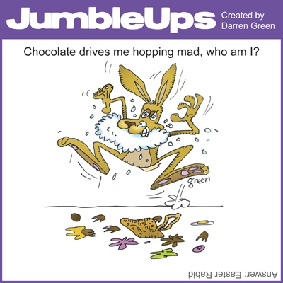 Thumbnail for Easter JumbleUps - comic puzzle