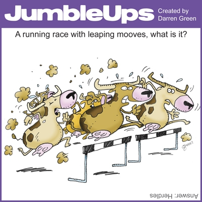 Thumbnail for Olympic JumbleUps - comic puzzles