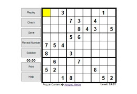 Thumbnail for Interactive Sudoku
