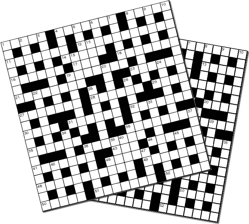 Image 1 for 10 BIG CROSSWORDS BOOKLET 01