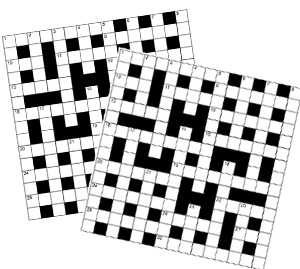 Thumbnail for 12 CRYPTIC 040 CROSSWORDS BOOKLET 01