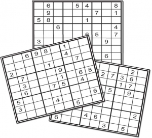 Thumbnail for 20 EASY SUDOKU BOOKLET 01