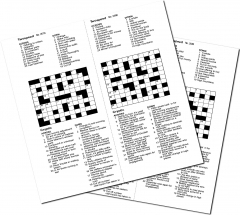 Thumbnail for 10 GENERAL KNOWLEDGE CROSSWORDS BOOKLET 04