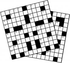 Image 1 for 15 HARD CROSSWORDS BOOKLET 04