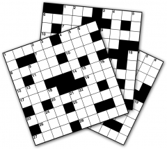 Thumbnail for 24 MINI CROSSWORDS BOOKLET 01